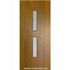 Huntington Mahogany Door with Grille 6-8 Single