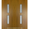 Huntington Mahogany Door with Grille 6-8 Double