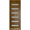 Beverly Mahogany Door with Grille 8-0 Single