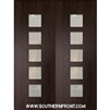 Venice Mahogany Door with Grille 8-0 Double