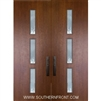 Huntington 8-0 Fiberglass Contemporary Door Double