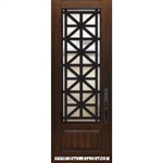 Contempo 8-0 3/4 Lite FG Steel Grille 1 Panel Single