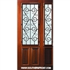 St Charles WO 8-0 2/3 Lite Single and 1 Sidelight