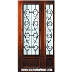 St Charles WO 8-0 3/4 Lite Single and 1 Sidelight