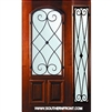 Charleston WO 6-8 Arch Lite Single and 1 Sidelight