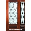 Charleston WO 6-8 3/4 Lite Single and 1 Sidelight