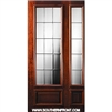 GC French 8-0 3/4 Lite Single and 1 Sidelight