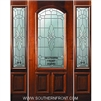 Versailles 6-8 2/3 Arch Lite Single and 2 Sidelights