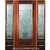 Courtlandt 6-8 3/4 Lite Single and 2 Sidelights
