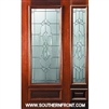Kensington 6-8 3/4 Lite Single and 1 Sidelight