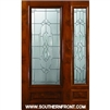Kensington KA 6-8 3/4 Lite Single and 1 Sidelight