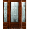Kensington KA 6-8 3/4 Lite Single and 2 Sidelights