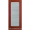 FCM141-RT 6-8 Fiber Classic Mahogany Fiberglass Raise/Tilt Internal Blinds Single