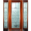 Kensington 6-8 Full Lite Single and 2 Sidelights