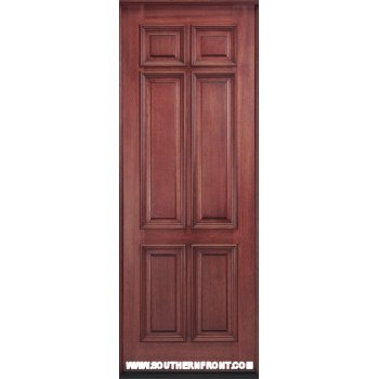 mc810 42 solid 6 panel 8 ft x 42 inch entry door click here