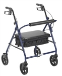 "Drive Bariatric Rollator with 8"" Wheels"