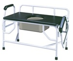 Drive Commode Extra Large Drop Arm Capacity 1000 lbs.