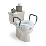 Invacare Toilet Seat Raised with arms