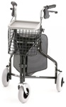 Nova Rollator TRAVELER 3 Wheel Includes Basket, Pouch and Tray 4900