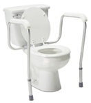 Lumex Toilet Safety Rails, Versaframe