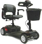 ActiveCare Spitfire 4-Wheel Scooter 1420