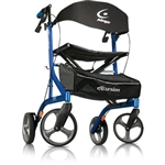 Airgo Excursion Rollators Tall Side Folding Rollator Handle Height 39.5 inches