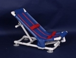 PVC Anthros Adolescent Bath Chair Capacity 150 lbs B0848-0-RB