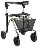 "Dolomite Melody Rollator 8"" indoor/outdoor wheels D12010"