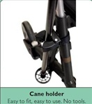 Dolomite Jazz Rollator Cane Holder (only fits the Jazz)