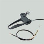 Dolomite Left Side Brake Handle with cable for the Legacy, Maxi+, and Symphony Replacement Parts D13098L