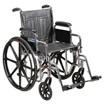 Drive Sentra EC Wheelchair Heavy Duty 450 lbs. Capacity