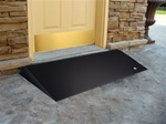 "Ez-Access Rubber Threshold ramp with Beveled Side Usable Size 2 1/2""H x 25""L x 36""W"