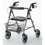 Guardian Envoy 480 Rolling Walker  large 8 inch wheels G07887