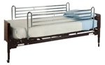 Lumex Homecare BED RAILS, FULL TELESCOPING CHROME