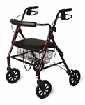 Guardian Bariatric Rollator Walker Capacity 400 Lbs.