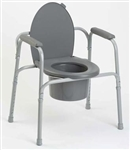 Invacare Commode All In One 300lb Capacity 9650