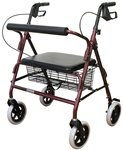 Karman Rollator Heavy Duty Bariatric Walker R4800W