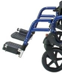Lumex Hybridlx Rollator Transport Chair Replacement Footrests Blue