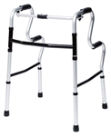Lumex UpRise Onyx Folding Walker 5.5 lbs