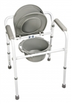 Lumex Commode 3-in-1 Steel Folding Commode