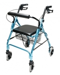 Lumex Walkabout Lite Four-Wheel Rollator 14.5 lbs. RJ4300