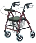 Lumex Junior Walkabout Four-Wheel Rollator RJ4301R