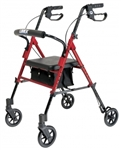 Lumex Rollator Set n' Go  Adjustable Seat Height RJ4700