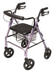Lumex Rollator Deluxe Walkabout Four-Wheel Contour RJ4805