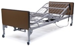 Lumex Patriot Hospital Bed | Full-Electric/Low Homecare Bed |  WendysWalkers.com
