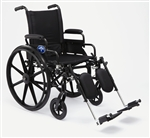 Medline Excel K4 Lightweight Heavy Duty Wheelchair