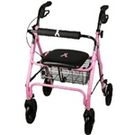 Medline Breast Cancer Awareness Rollator