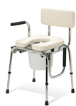 Medline Guardian Heavy Duty Drop-Arm Commode