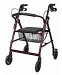 Medline Rollator walker with padded seat MDS86850