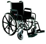 "Merits Acadia Wheelchair 16"" and 18"" Seat Width comes with Detachable desk Arms"